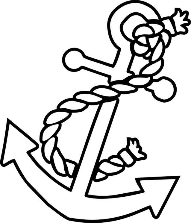 Drawn anchor vector Kalóz Pinterest  Pages Anchor