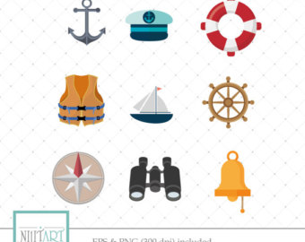 Compass clipart pirate gold Vector clipart Digital Etsy clipart