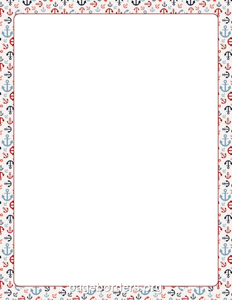 Anchor clipart cruise And http://pageborders anchor Free Free