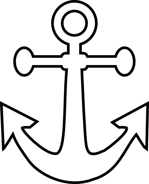 Drawn anchor small Drawing ideas best tattoo clip