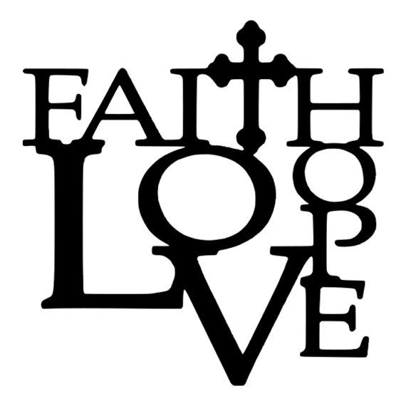 Anchor clipart faith hope love Pinterest SVGs about Hope Quote