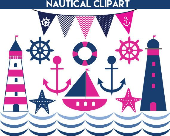 Pink clipart nautical On Classroom best images OFF