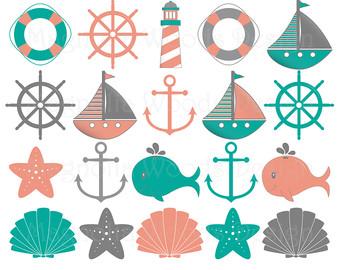 Mint clipart anchor Nautical nautical Clip anchor Nautical