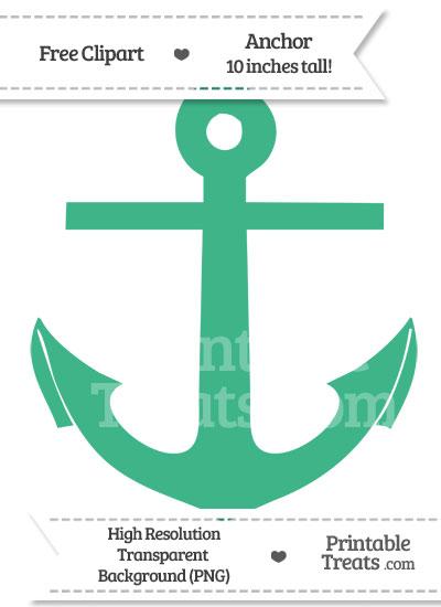 Mint clipart anchor Com Printable — Mint PrintableTreats