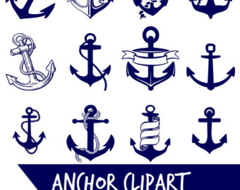 Navy clipart anchor rope #8