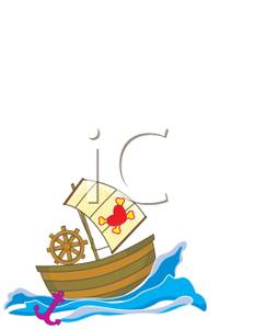 Anchor clipart pirate ship Free Anchor Pirate and and