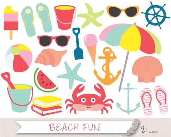 Seaside clipart beach item #1