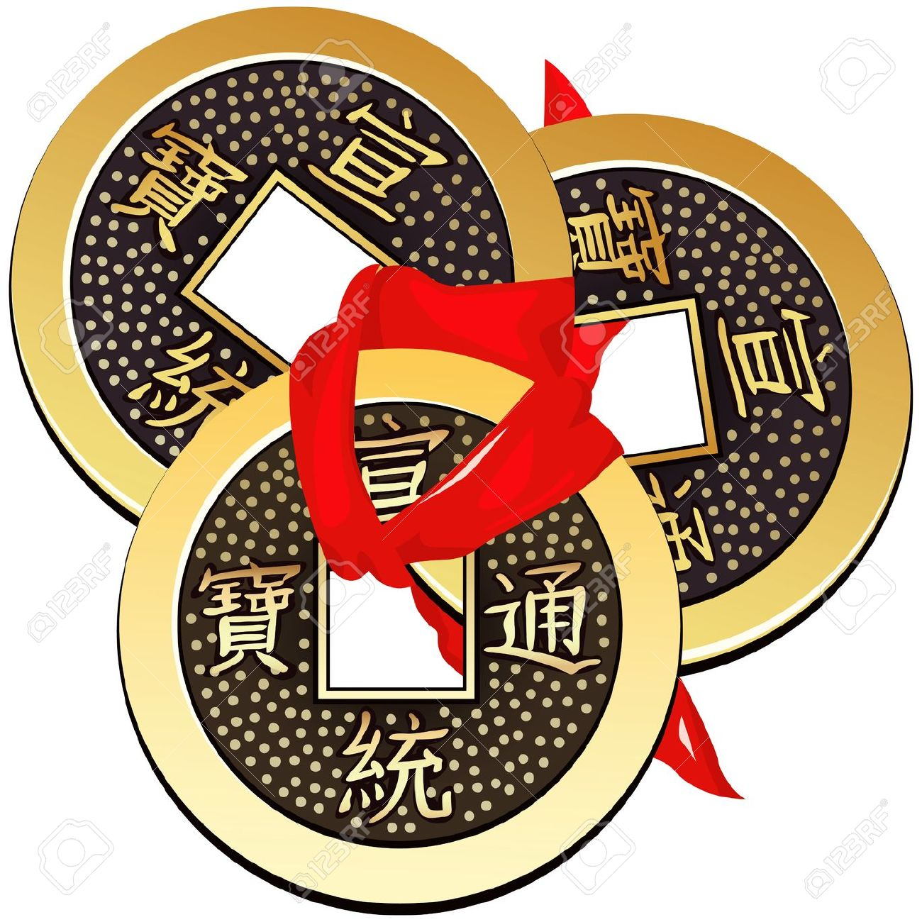Ancient clipart chinese coin A Coins Circle feng A