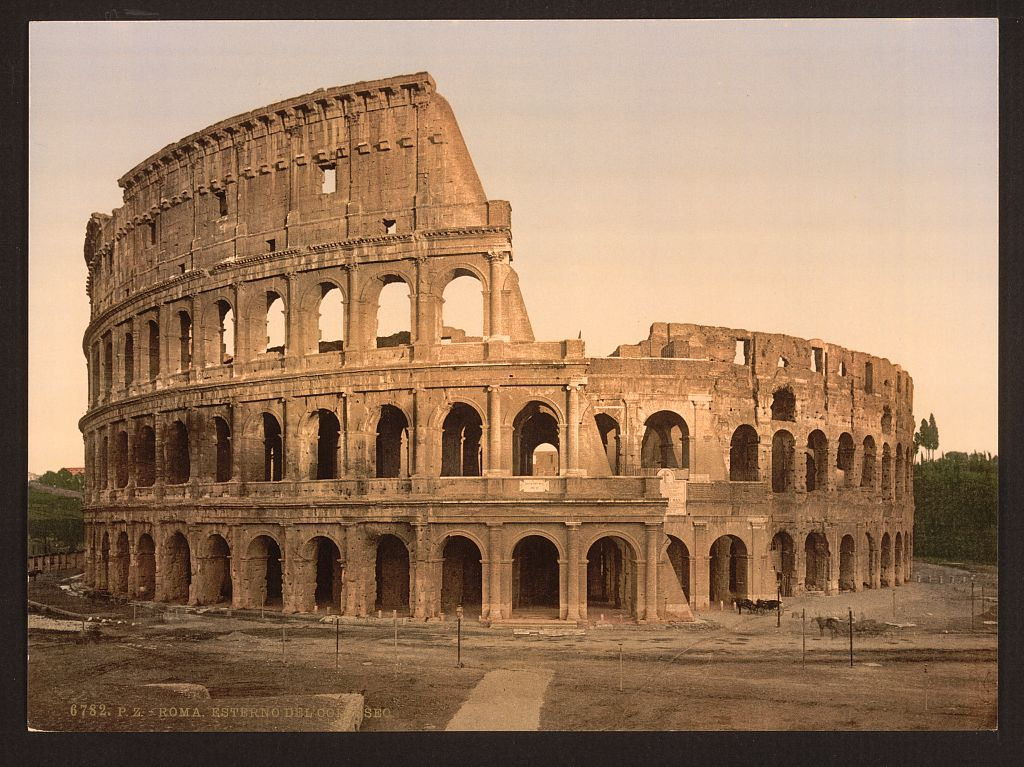 Colosseum clipart ancient history Coliseum Amphitheatre Art Friday