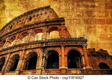 Ancient clipart colosseum #11