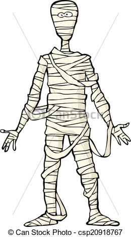 Ancient clipart egyptian mummy Background Vector Clip Art mummy
