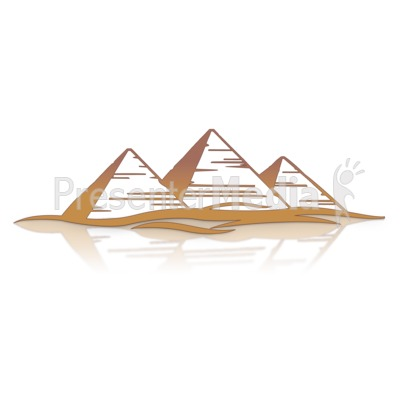 Ancient clipart great pyramid #13