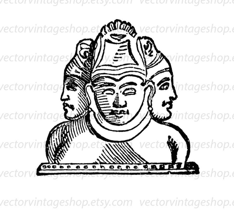 Ancient clipart hindu Graphic Clipart Hindu Vector Instant