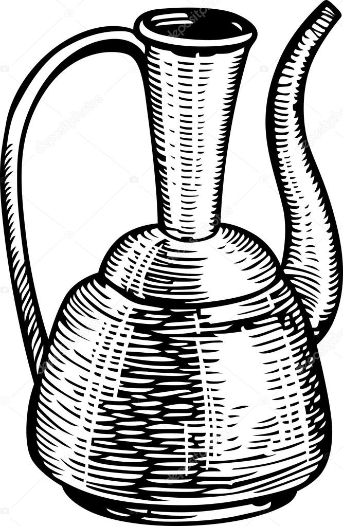 Ancient clipart jug #3