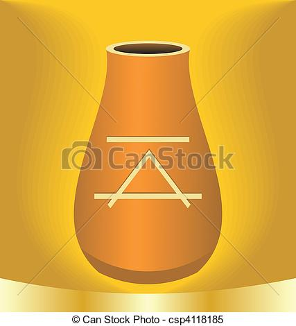Ancient clipart jug #4