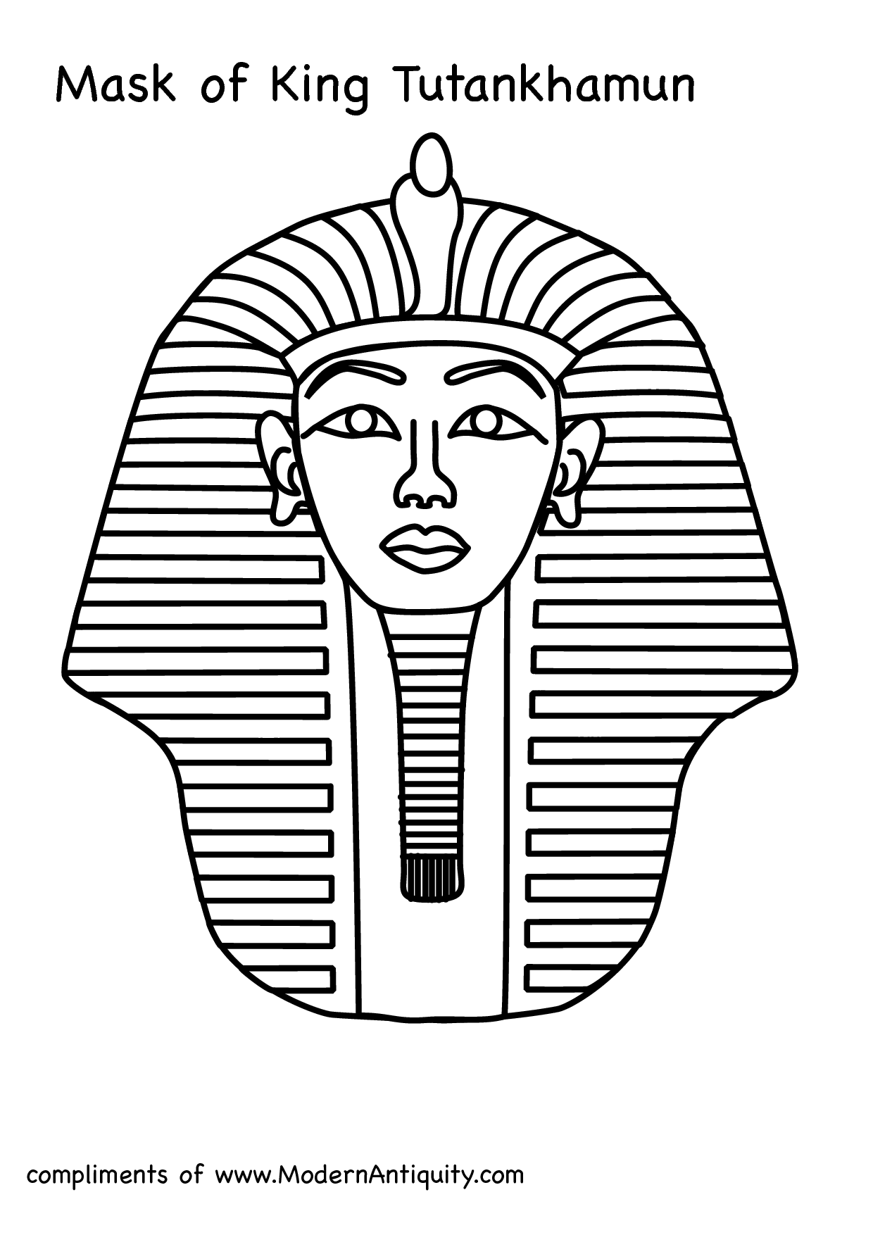 Ancient clipart king tut Tut egyptian new Mask egyptian