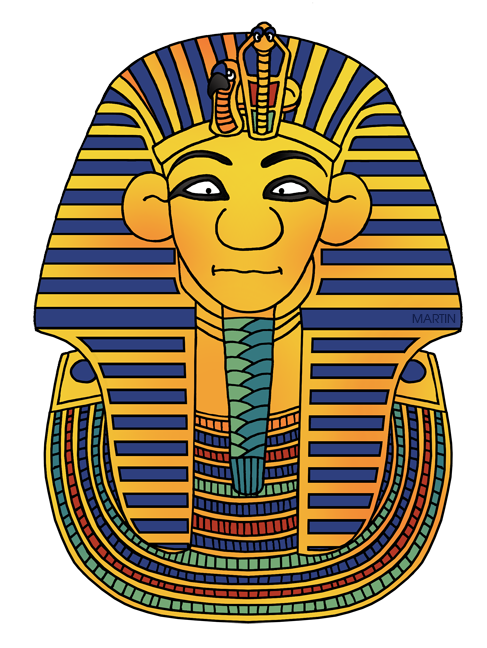 Ancient clipart king tut Mask King Martin Tut's King