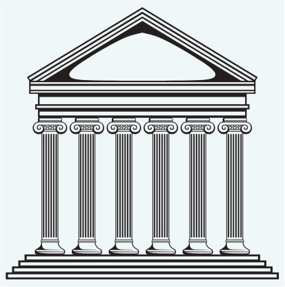 Ancient clipart roman forum Zone Government Cliparts Building Roman