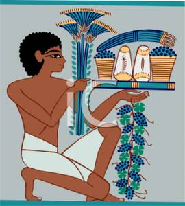 Restaurant clipart funny Picture Boy Carrying Hieroglyphs Food