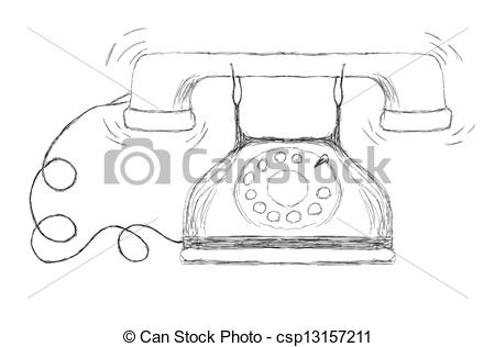 Ancient clipart telephone #4