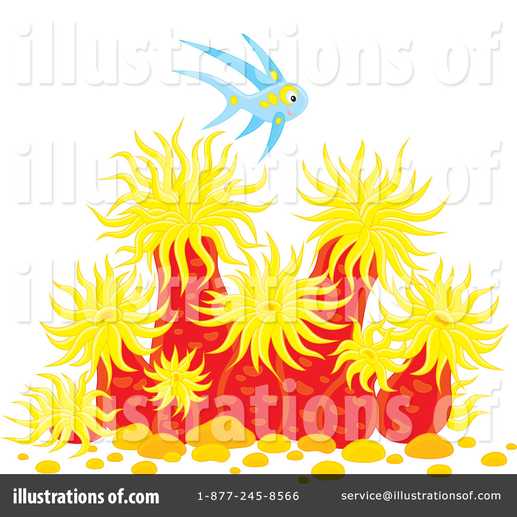Sea Anemone clipart under sea #1