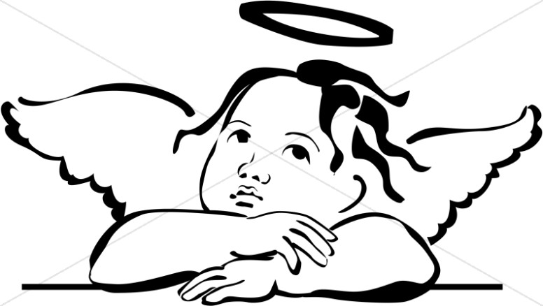 Tombstone clipart vintage Angel Clipart · Baby Angel