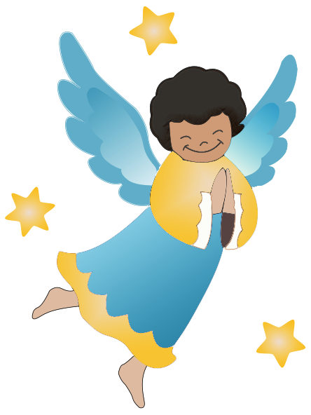 Heaven clipart pearly gates Praying Angels Clipart Angel serabim