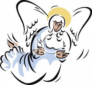 Angel clipart angel flying #10