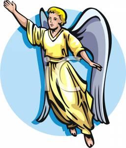 Angel clipart angel flying #7
