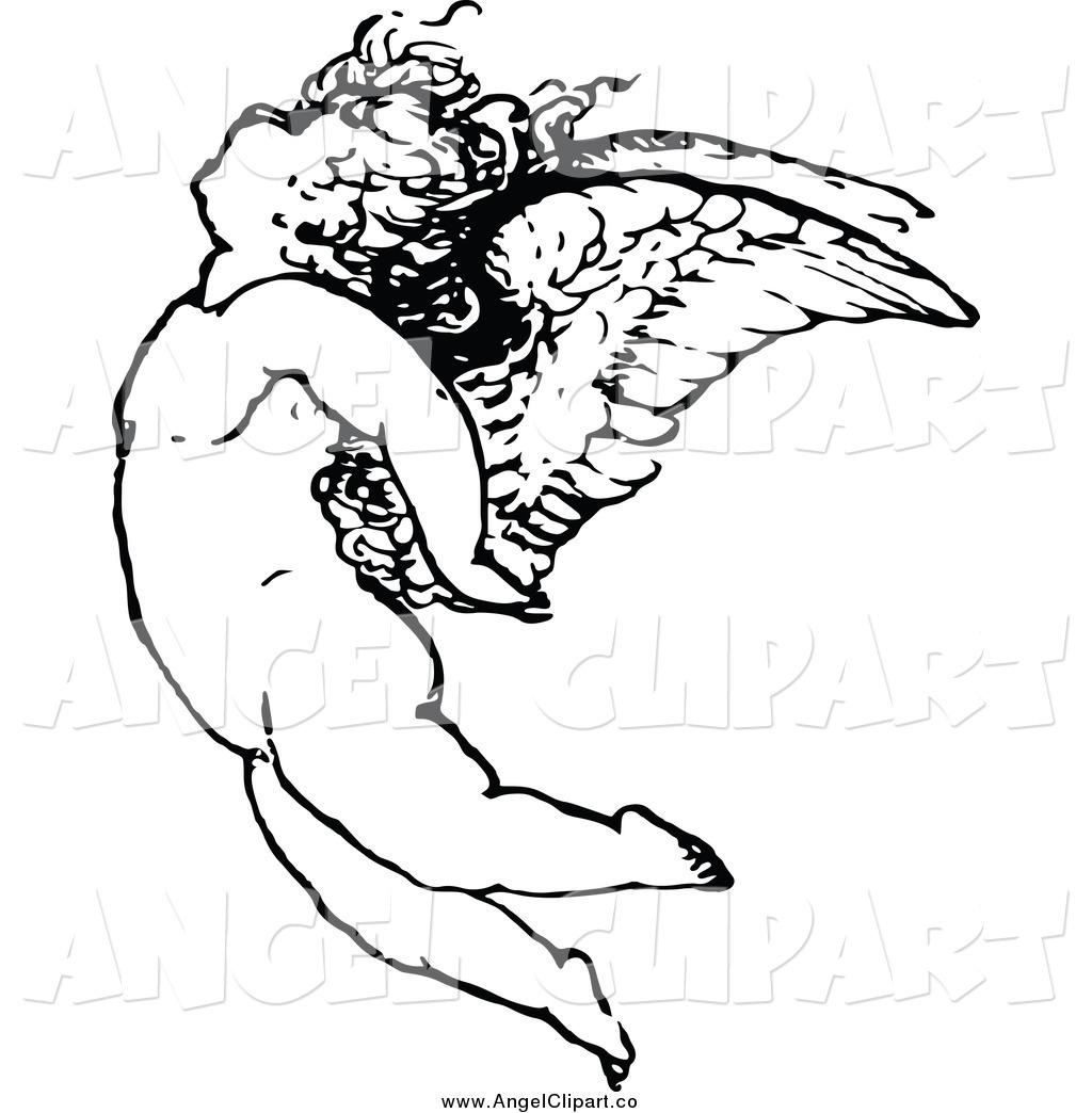 Angel clipart angel flying #4