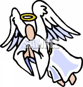 Angel clipart angel flying #3