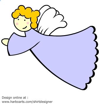 Angel clipart angel flying #5