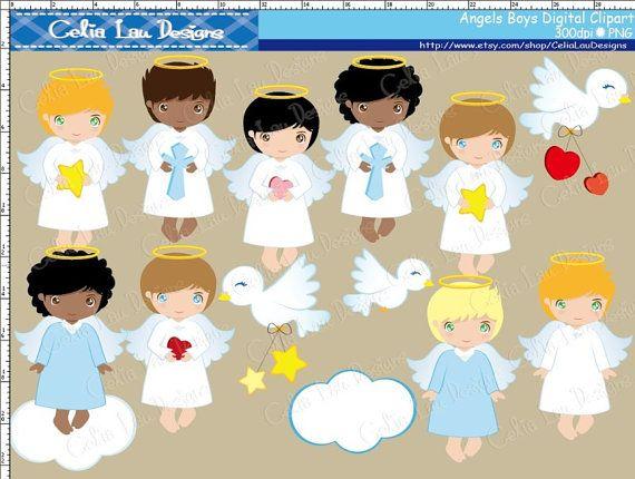 Angel clipart baptism angel #10
