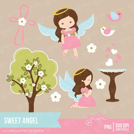 Angel clipart baptism angel #8