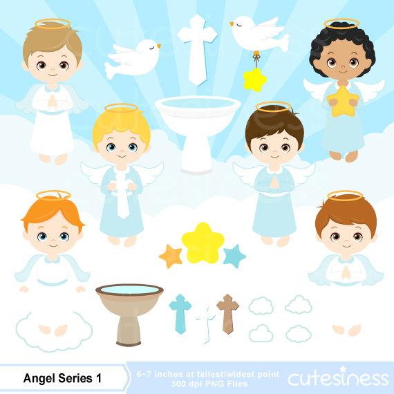 Angel clipart baptism angel #4