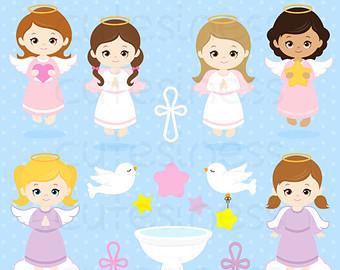 Angel clipart baptism angel #7