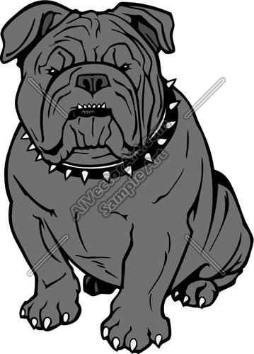 Angel clipart bulldog Sports Vectorart: School Mascot