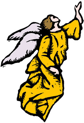 Angel clipart catholic Two ANGELS 1 Angels Page