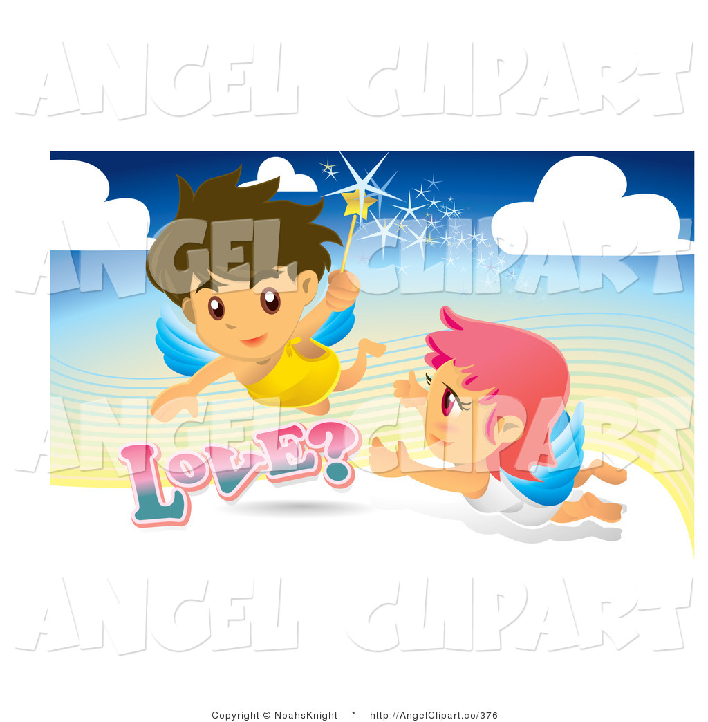 Angel clipart couple #10