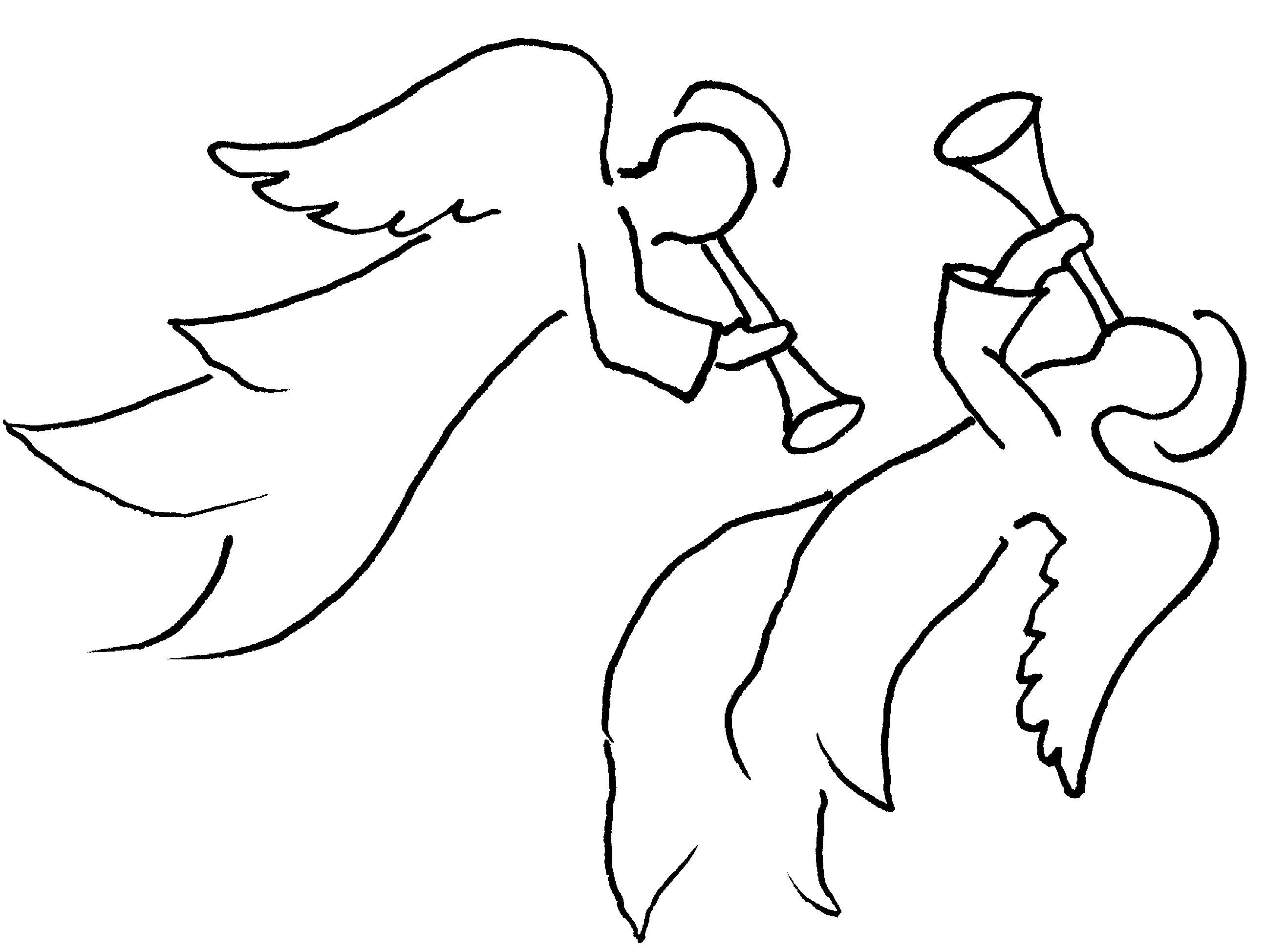 Angel clipart couple #7