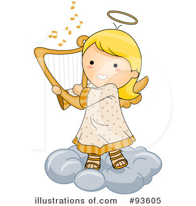Angel clipart cute #93605 Free Studio Royalty Illustration