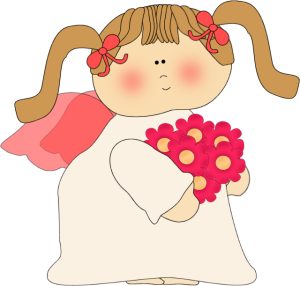 Angel clipart cute Angel Flower Images Art Angel