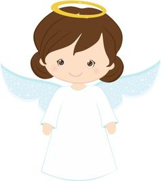 Angel clipart dark hair Angels more Bird & and