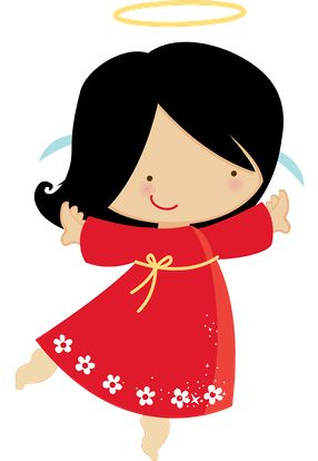 Angel clipart dark hair Images on best CLIPART Anjos
