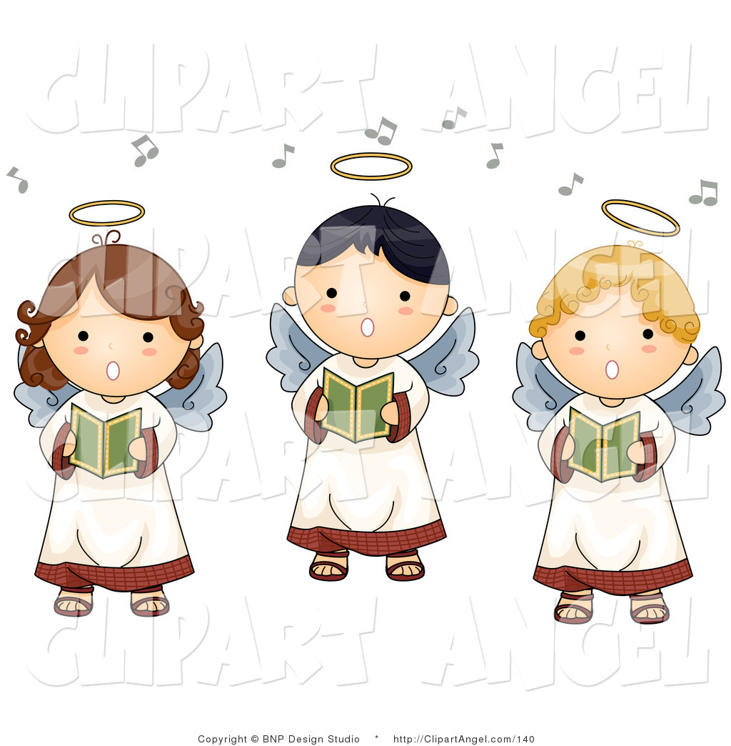 Angel clipart innocence Design Illustration Studio Innocent of