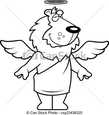 Angel Vector Lion Lion