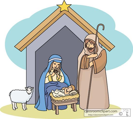 Angel clipart nativity scene Clipart nativity Top for 84