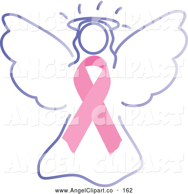 Angel clipart ribbon Cancer Angel of Cancer