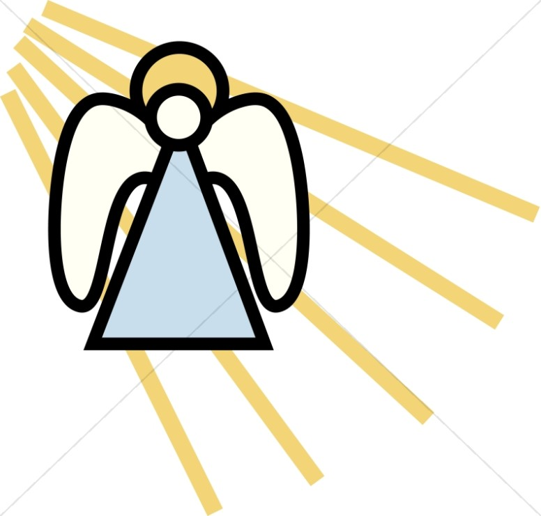 Angel Angel Simple Clipart Angel
