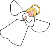 Over Clipart Simple Clipart Angel